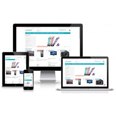 Бесплатная установка шаблона и демо-данных после покупки Unishop2
