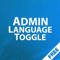 Admin Language toggle - быстрая смена языка администратора 1.00
