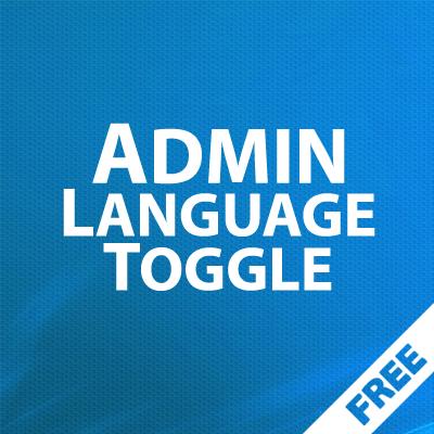 Admin Language toggle - быстрая смена языка администратора 1.00
