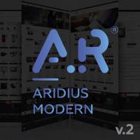 Адаптивный, многомодульный шаблон Aridius Modern v.2 для OpenCart 3.x
