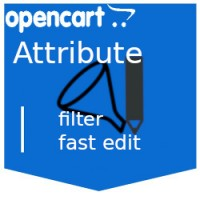 Admin Attribute Filter Фильтр + Объединение атрибутов Характеристики товара