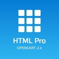 HTML Pro - Текстовые блоки для Opencart 2.x