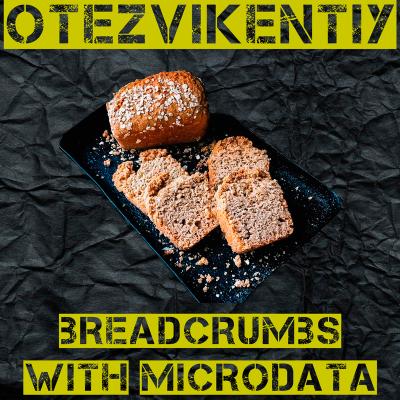 Правильные хлебные крошки Microdata schema.org - GOOGLE approved!