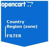 Фильтр Страны и Регионы (админка)
