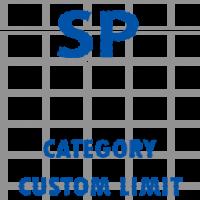 SP FREE Custom Category Limit 2x-3x