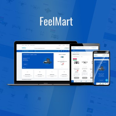 FeelMart - адаптивный универсальный шаблон (v 1.6.7)