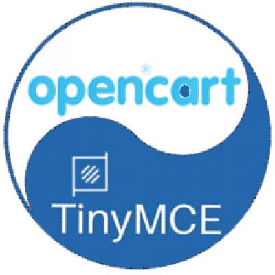 Текстовый редактор opencart 2.3 (TinyMCE)