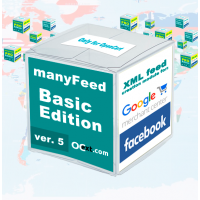Google Merchant Center - модуль manyFeed Basic Edit., создание фида для Google Merchant Center, Facebook, Инстаграм для OpenCart