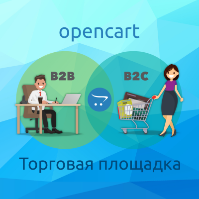 Торговая площадка | C2C B2C B2B Marketplace