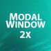 Modal Window 2x - всплывающее окно подтверждения / информации 1.21