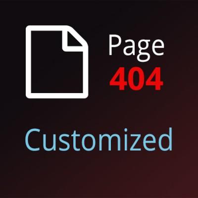 Страница 404 для OpenCart 2 и OpenCart 3