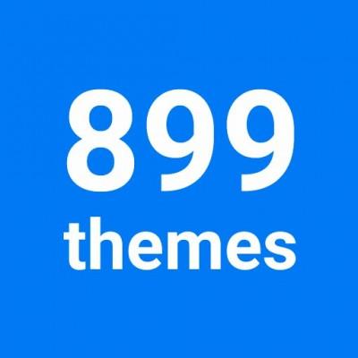 899themes - доработки авторами шаблона