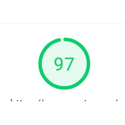Скорость google PageSpeed Insights 90+