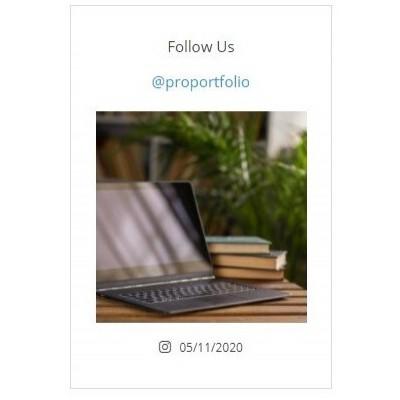 Simple Instagram Widget - Виджет Инстаграм для сайта