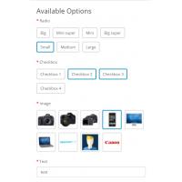 Новый дизайн опций opencart 3