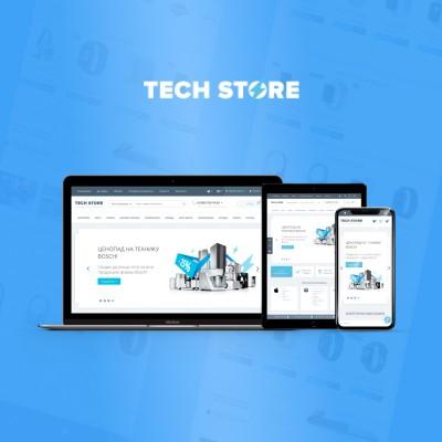 TechStore - адаптивный универсальный шаблон (v 3.4)