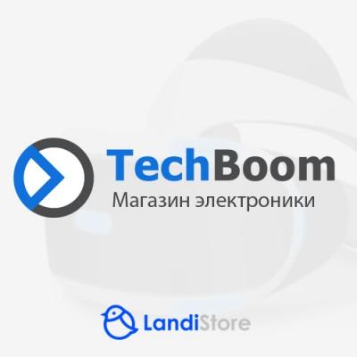 TechBoom - адаптивный, универсальный шаблон