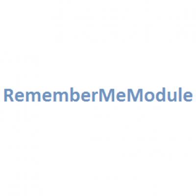 "RememberMeModule (""Запомнить меня"") v1.1.1"