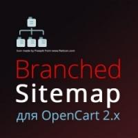 Branched Sitemap - лучший SEO-модуль карты сайта для OpenCart 2
